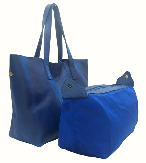 Buy Bonnie Shopping Bag Medium On Blue