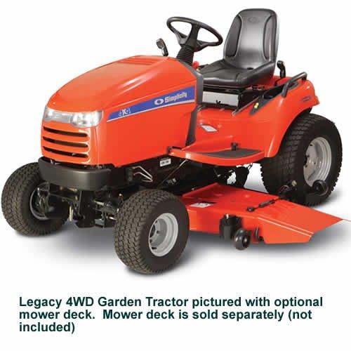 Buy Simplicity Legacy XL 27HP Garden Tractor, 4-Wheel Drive