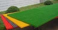 Buy FRP GRP Grating Grill Gripwalk Gripway Kabel Tray Lader Pipa Plat Floor Wall Gibre Grid BesteG-F