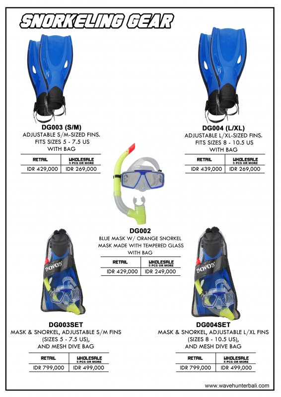 Buy Snorkeling Sets