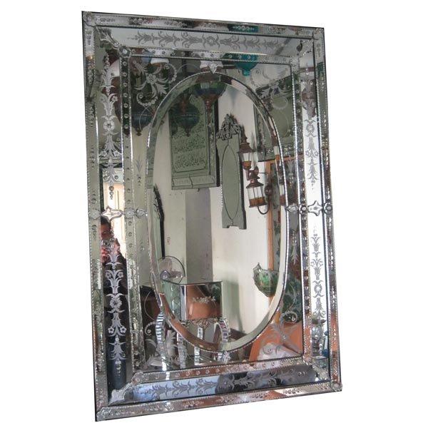 Buy Rectangle venetian mirror topas