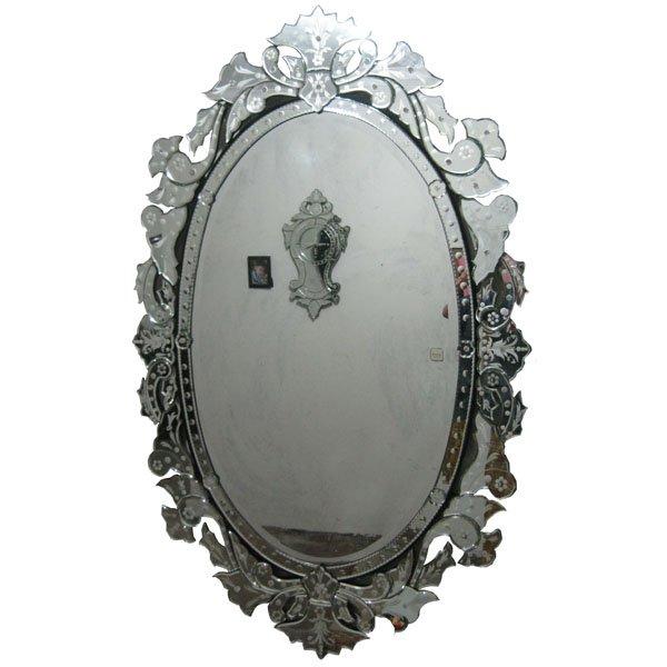Buy Full length venetian mirror oval – 1034