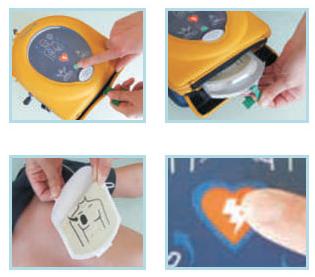 Buy AED HeartSine samaritan 350 PAD