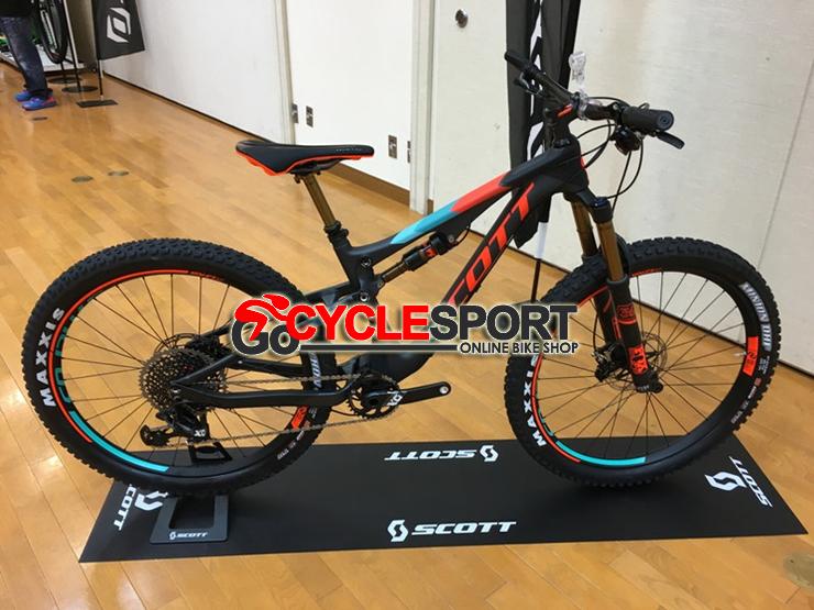 Buy 2017 Scott Genius 700 Plus Tuned Mountain Bike (GOCYCLESPORT)