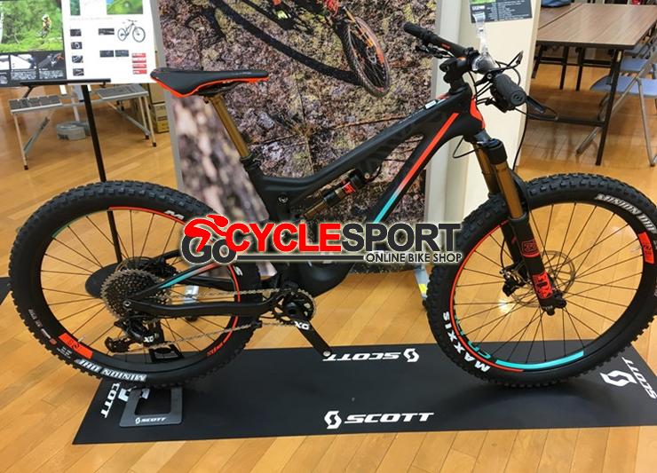 Buy 2017 Scott Genius LT 700 Plus Tuned Mountain Bike (GOCYCLESPORT)