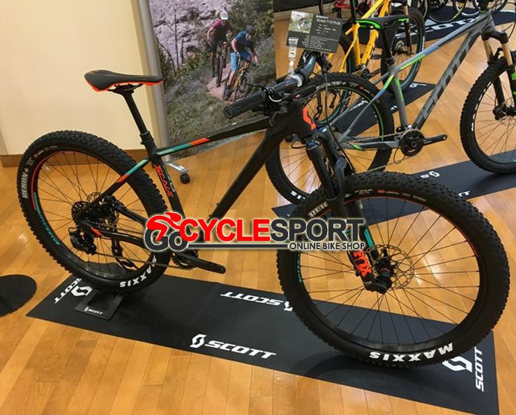 Buy 2017 Scott Scale 710 Plus Mountain Bike (GOCYCLESPORT)
