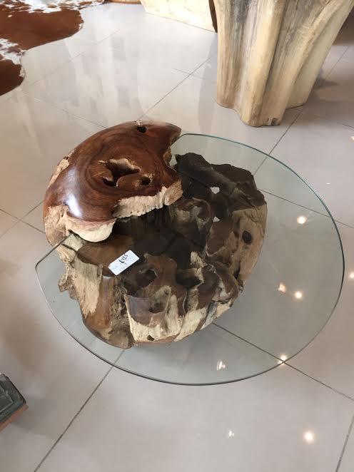 Buy Teak Root Ball Coffee Table