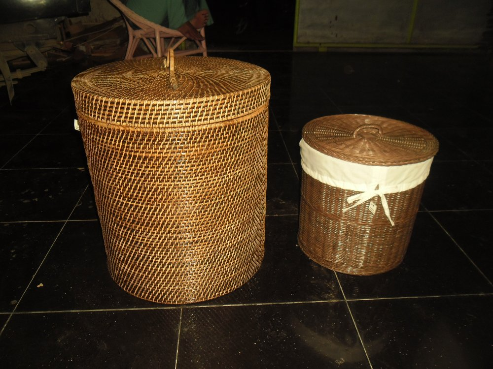 Loundry Rattan Basket