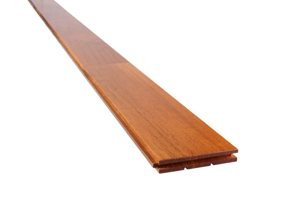 Buy Teak Uni Joint Laminate Wood Flooring T&G