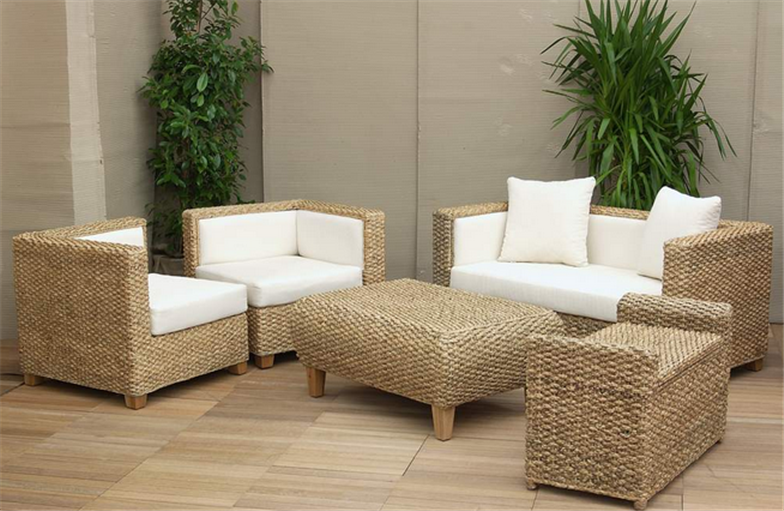 Marvelous Living Set Water Hyacinth Buy In Cirebon Ncnpc Chair Design For Home Ncnpcorg