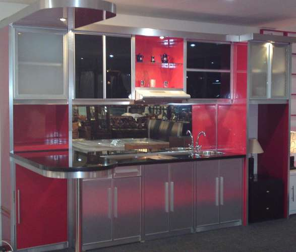 Kitchen Set Silver Merah Buy In Jakarta