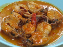 Canned Cuttlefish In Hot Sauce