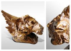 Sculptures made of wood UK-004