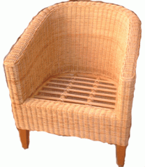 Grand Rattan Lounge Chair