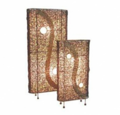 Stand Lamp Rattan