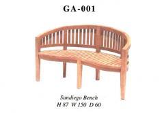 Sandiego bench