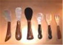 Spoon and Fork MOP with Wood and Black shell