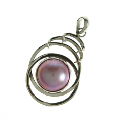 Pendants  Mabe Pearl