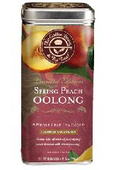Spring Peach Oolong Tea Bags