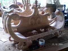 Jual sofa erahu mahogany giant size