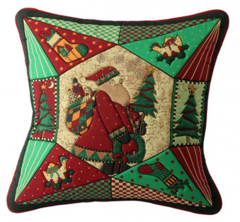 Cushion Cover Quilted Christmas