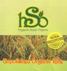 Unpolished Organic Rice