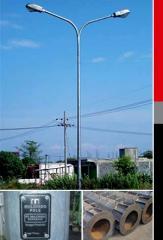 Corrugated Poles
