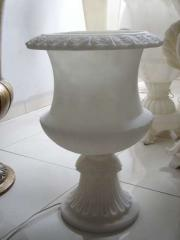Original aristo white ice finish, lamp