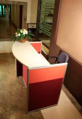 Receptionists and Counters
