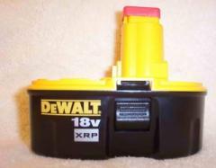 DeWalt 18volt XRP DC9096 Battery