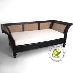 Teak Furniture Rattan Sofa