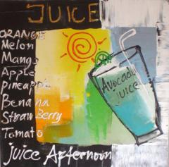 Avocado Juice Painting