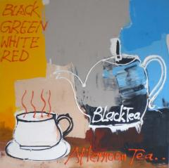 Green Tea Painting