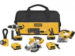 Dewalt 18V XRP 5-Tool Combo Kit with 3rd Battery