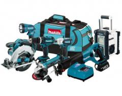 Makita LXT702 18V LXT Lithium-Ion 7-Piece Combo