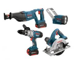Bosch CLPK40-180 18V 4-Tool Litheon Combo Kit