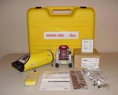 Leica Piper 200 Pipe Laser System & Acc NIB