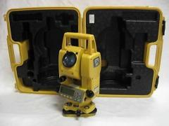 Topcon Gts-211d Total Station Surveying Kit in