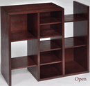 Jf H bookcase open
