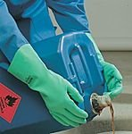 Chemical resistant protective gloves mapa