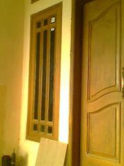 Door frames window