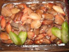 Dagingnya supit kepiting