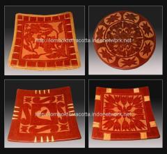 Lombok terracotta-2, piring-piring