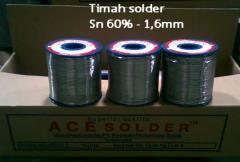 Timah solder Sn 60