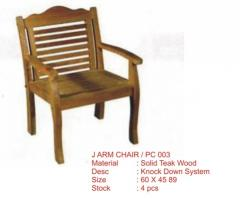 J Arm Chair