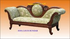 Sofa Louis Bundar