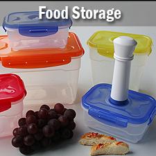 Food storage + vacuum