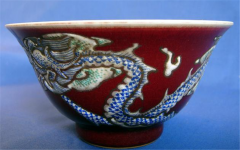 Cup Red Dragon