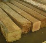 Durian wood square log kayu  wooden beams