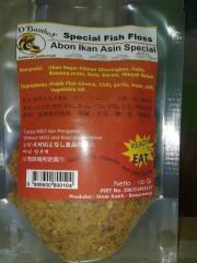 Shredded Salted Fish D 'bamboe